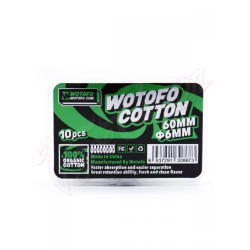 Wotofo Ageleted Cotton 6mm
